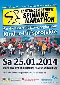 Schellen Sau Spinning Marathon 2014